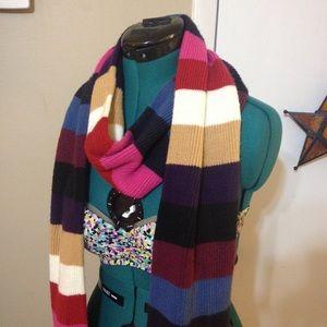 St. Johns Bay long multicolored stripe scarf